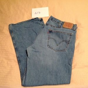 Levi's 529 Low Rise Straight Size 40x32 GUC